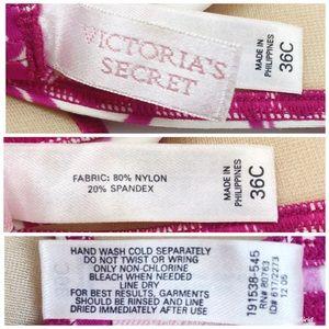 Victoria's Secret Swim - Victoria's Secret Floral Bikini 36C Small Bottoms